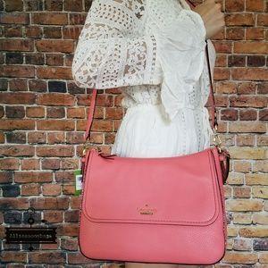 Kate spade jackson colette satchel coral bag